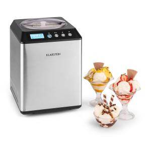 Vanilly Sky Family Gelatiera Frozen Yogurt 250W 2,5l Argento