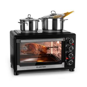 Masterchef Mini four minuterie 60 min 38L Table de cuisson infrarouge