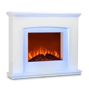 Klarstein Aosta Light & Fire Electric Fire Fire Fireplace 1000/2000W Telecomando a distanza